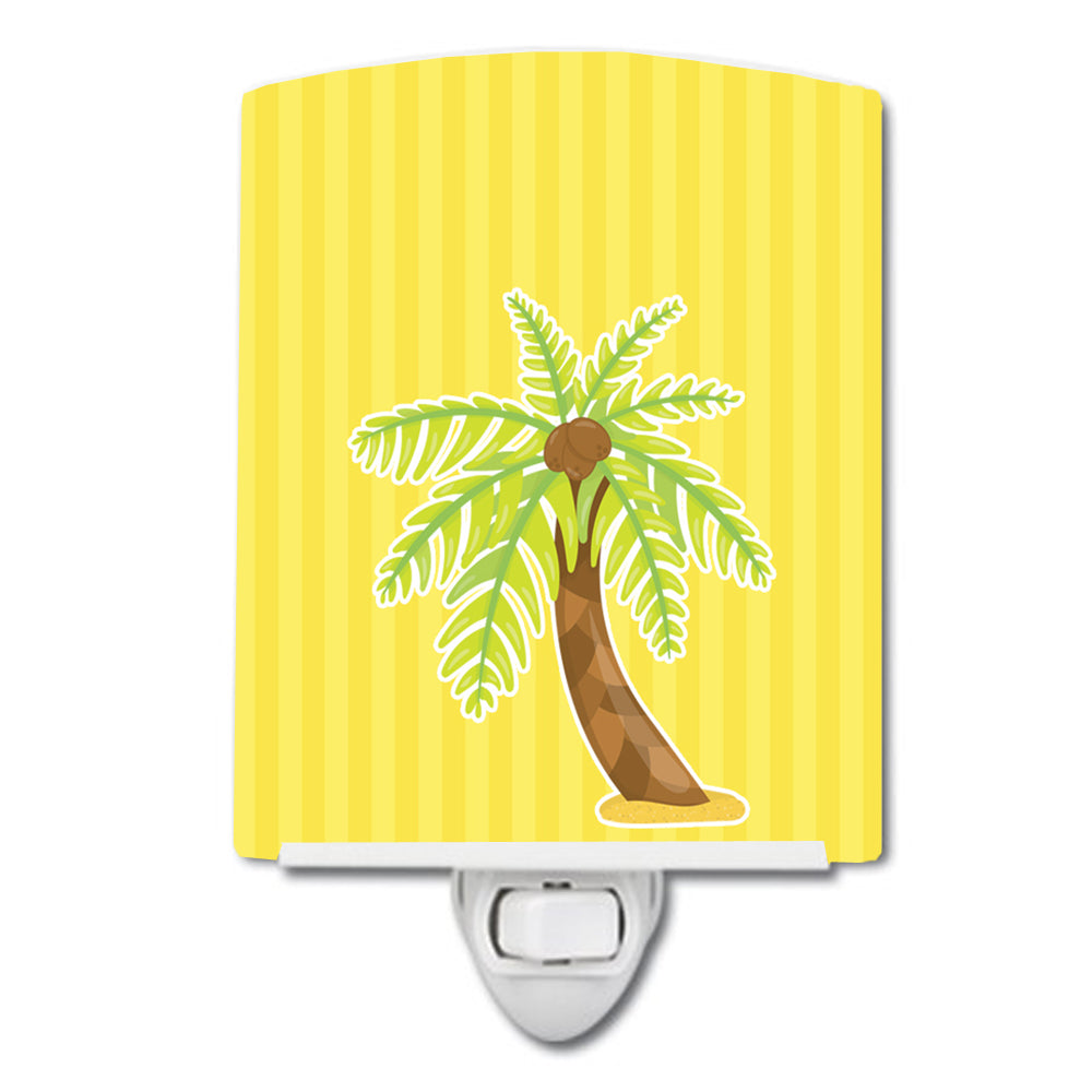 Palm Tree Ceramic Night Light BB8641CNL by Caroline's Treasures