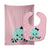 Buy this Octopus Doll Baby Bib & Burp Cloth BB8723STBU