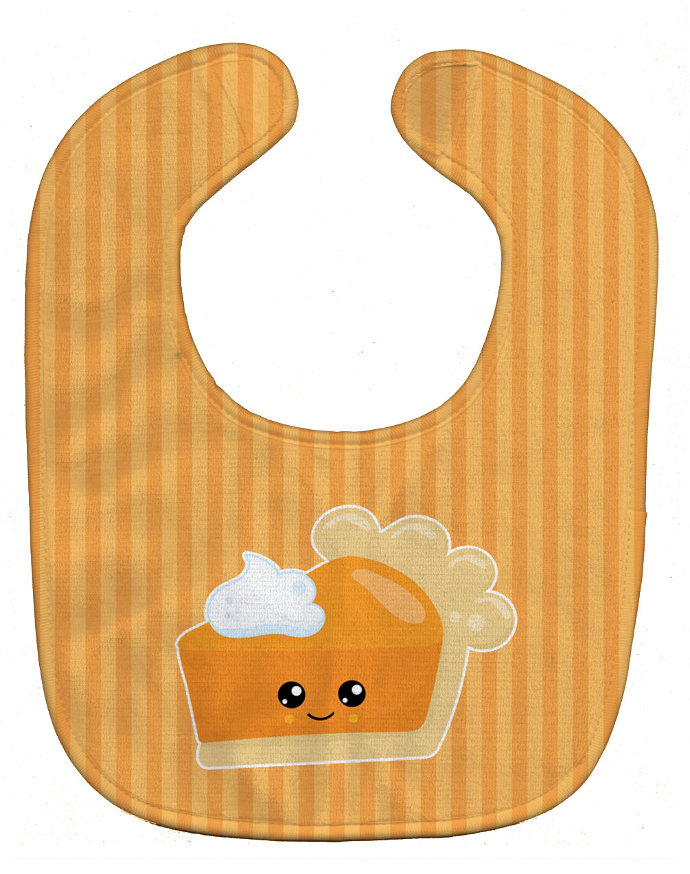Fall Pumpkin Pie Baby Bib BB8764BIB by Caroline's Treasures