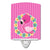 Buy this Flamingo Flower Wreath Ceramic Night Light BB8768CNL