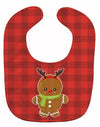 Christmas Gingerbread Reindeer Baby Bib BB8776BIB by Caroline's Treasures