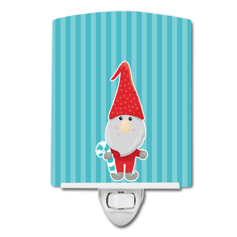 Buy this Christmas Gnome Candy Cane Ceramic Night Light BB8783CNL