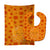 Buy this Precious Ocean Octopus Orange Baby Bib & Burp Cloth BB8795STBU