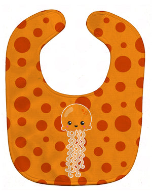 Buy this Ocean Jellyfish Orange Baby Bib BB8797BIB