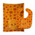Buy this Cutie Ocean Octopus Orange Baby Bib & Burp Cloth BB8799STBU