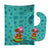 Buy this Tiki Face Girl Baby Bib & Burp Cloth BB8815STBU