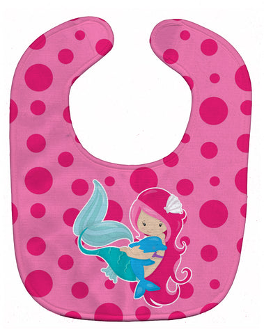 Buy this Beach Mermaid Pink Baby Bib BB8819BIB