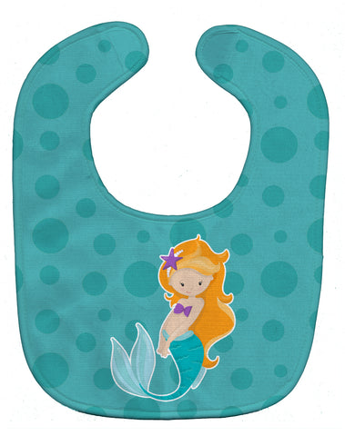 Buy this Beach Mermaid Ginger Baby Bib BB8823BIB