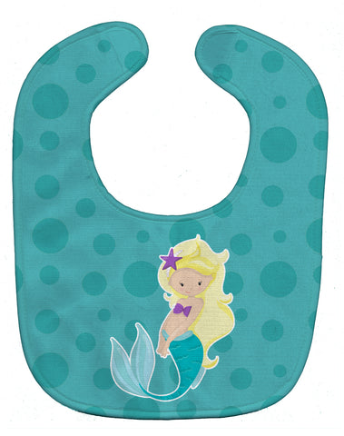 Buy this Beach Mermaid Blonde Hair Baby Bib BB8824BIB