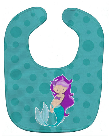 Buy this Beach Mermaid Purple Hair Baby Bib BB8826BIB