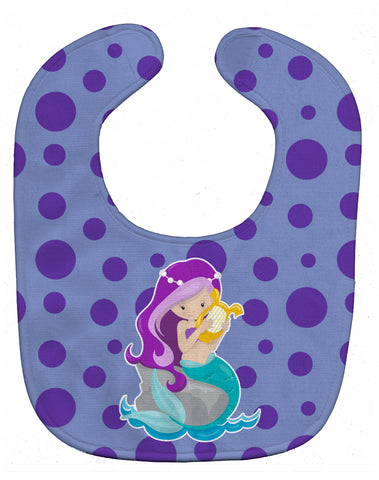 Buy this Beach Mermaid Purple Hair Baby Bib BB8827BIB