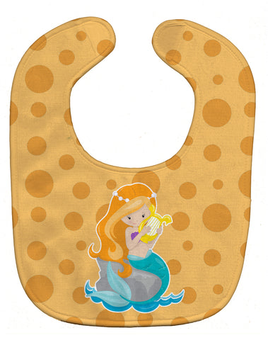 Buy this Beach Mermaid Ginger Hair Baby Bib BB8829BIB