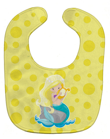 Buy this Beach Mermaid Blonde Hair Baby Bib BB8830BIB