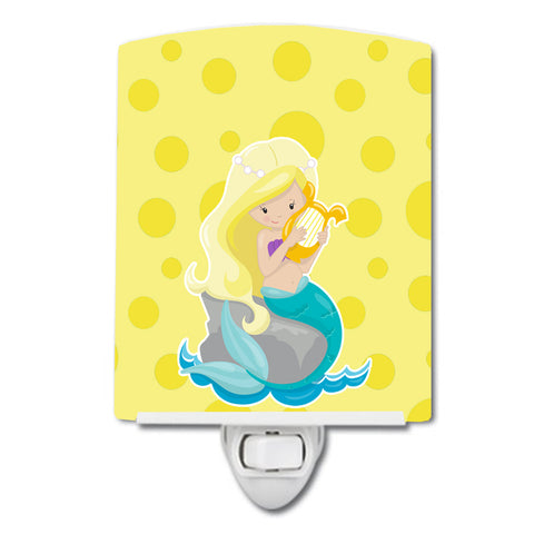 Buy this Beach Mermaid Blonde Hair Toni Ceramic Night Light BB8830CNL