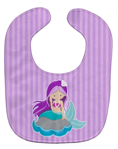 Buy this Beach Mermaid Purple Hair Baby Bib BB8831BIB