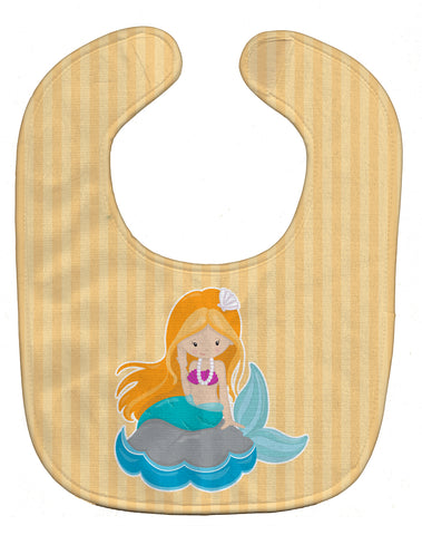 Buy this Beach Mermaid Ginger Hair Baby Bib BB8834BIB