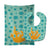 Buy this Beach Coral Baby Bib & Burp Cloth BB8838STBU