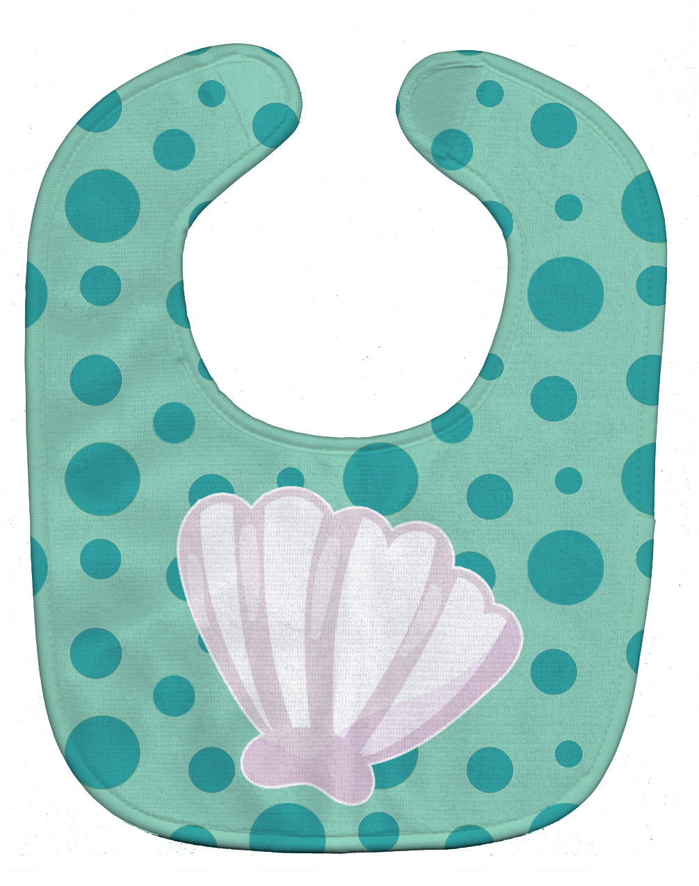 Buy this Beach Scallop Shell Baby Bib BB8840BIB