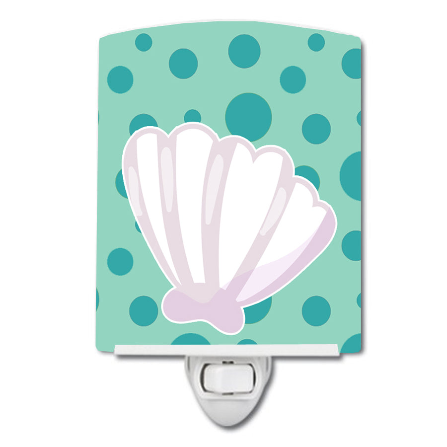 Buy this Beach Scallop Shell Ceramic Night Light BB8840CNL