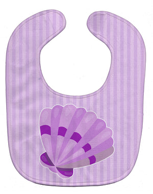Buy this Beach Scallop Shell Baby Bib BB8843BIB
