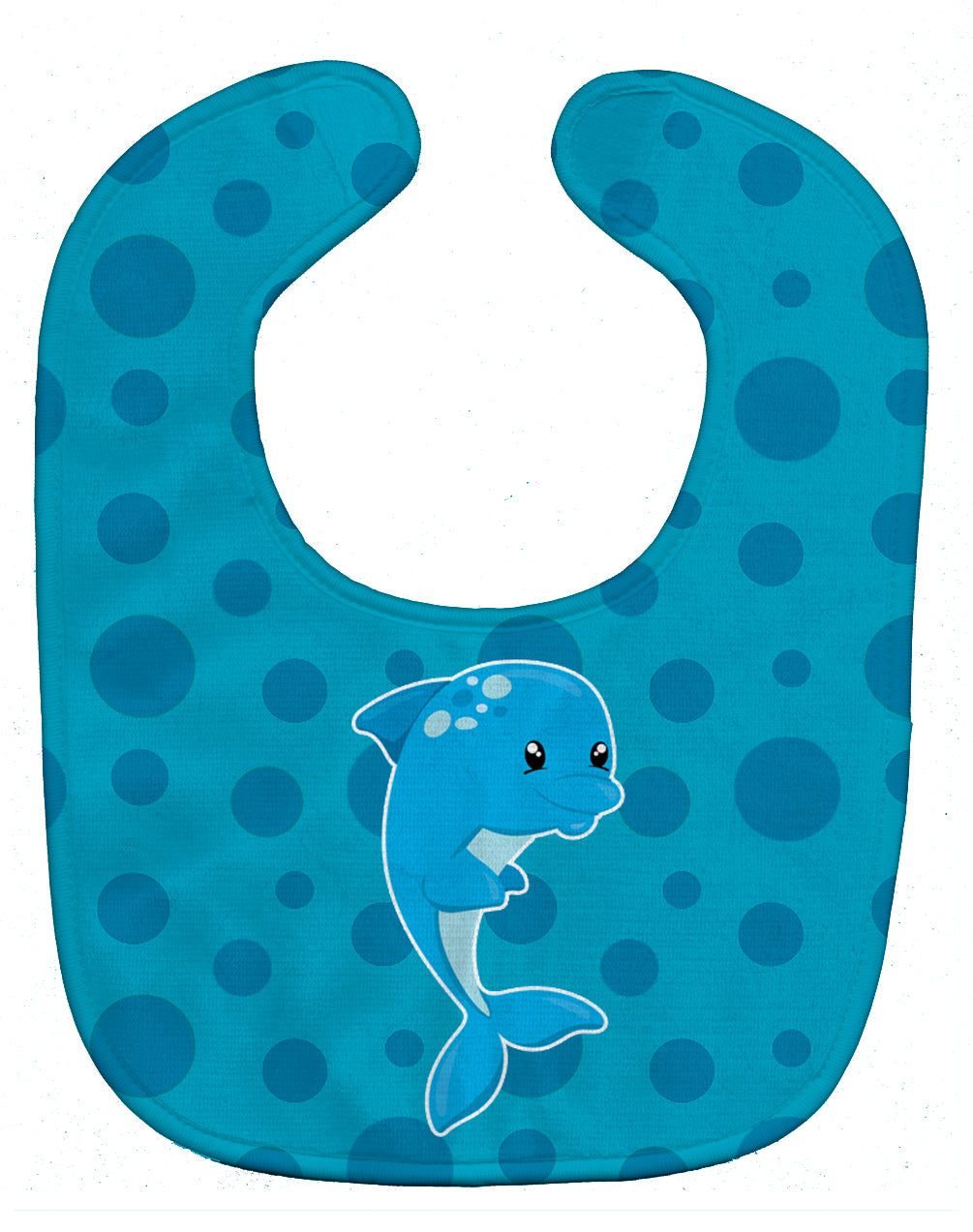 Buy this Nautical Dolphin Baby Bib BB8894BIB