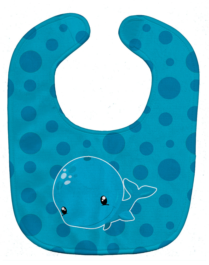 Buy this Nautical Whale Baby Bib BB8896BIB