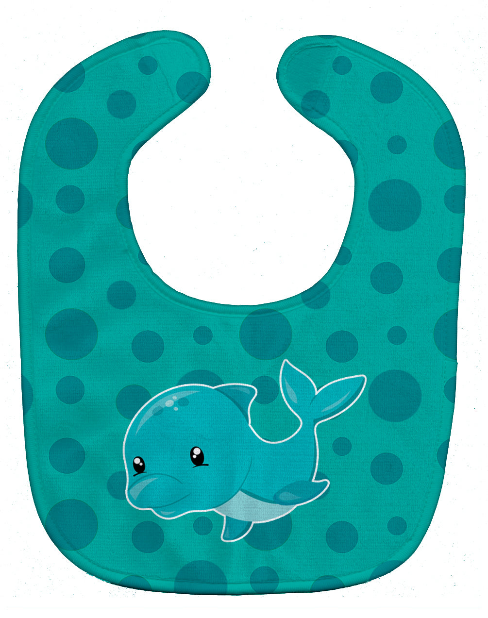 Buy this Nautical Dolphin Baby Bib BB8898BIB