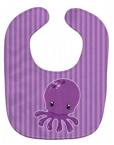 Buy this Nautical Purple Octopus Baby Bib BB8904BIB