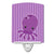 Buy this Nautical Purple Octopus Ceramic Night Light BB8904CNL
