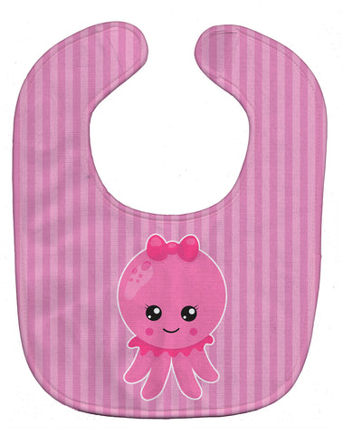 Buy this Nautical Pink Octopus Baby Bib BB8905BIB