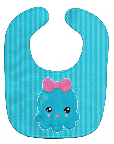 Buy this Nautical Blue Octopus Baby Bib BB8910BIB