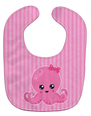 Buy this Nautical Pink Octopus Baby Bib BB8911BIB