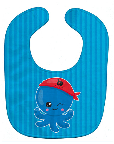 Buy this Nautical Pirate Octopus Baby Bib BB8913BIB