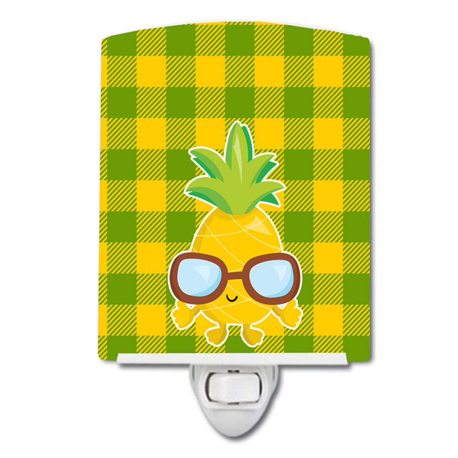 Buy this Pineapple Cool Sunglasses Face Ceramic Night Light BB8959CNL