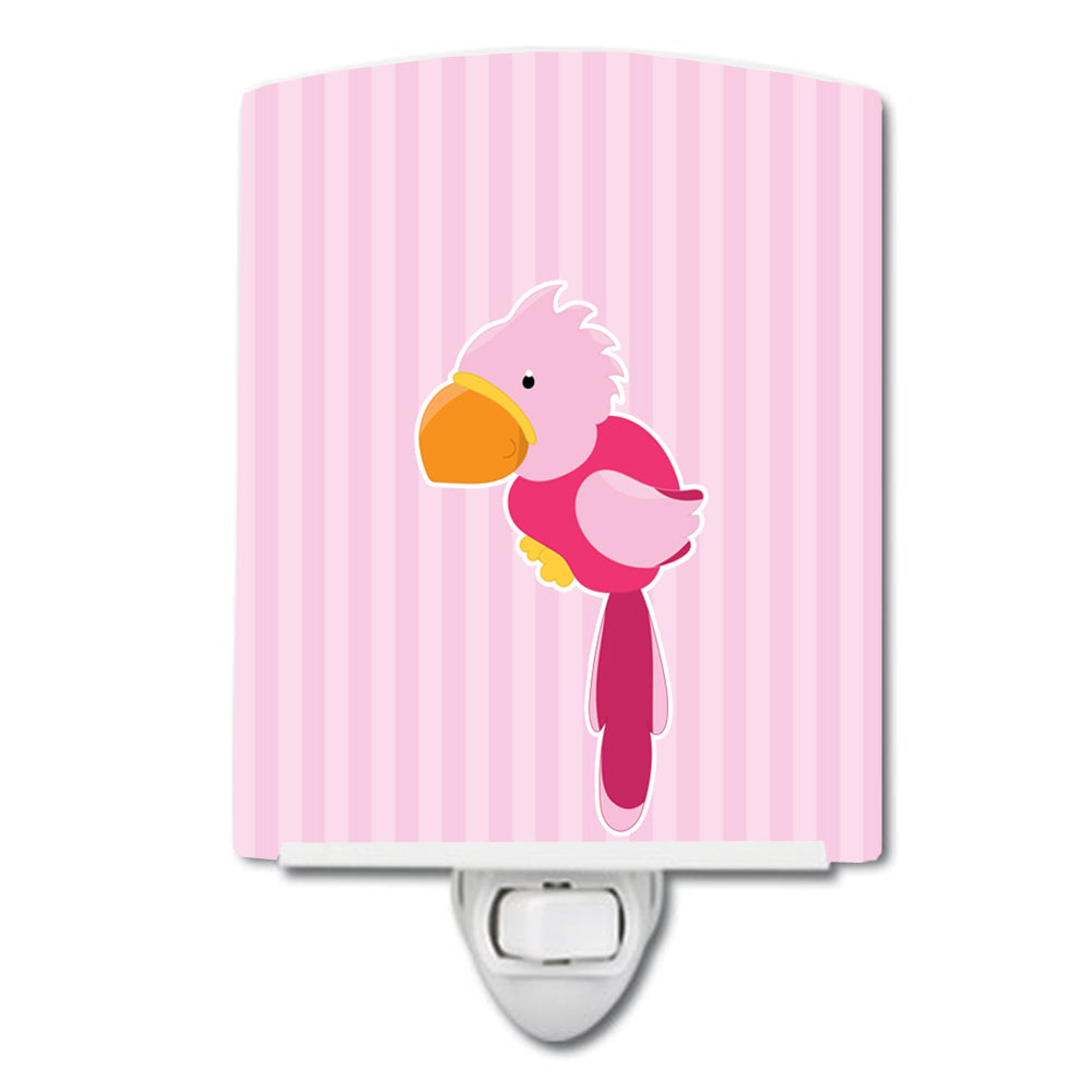 Buy this Pirate Parrot Pink Ceramic Night Light BB8971CNL