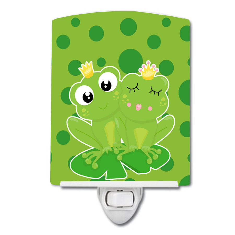 Buy this Frog Prince and Princess Ceramic Night Light BB8988CNL