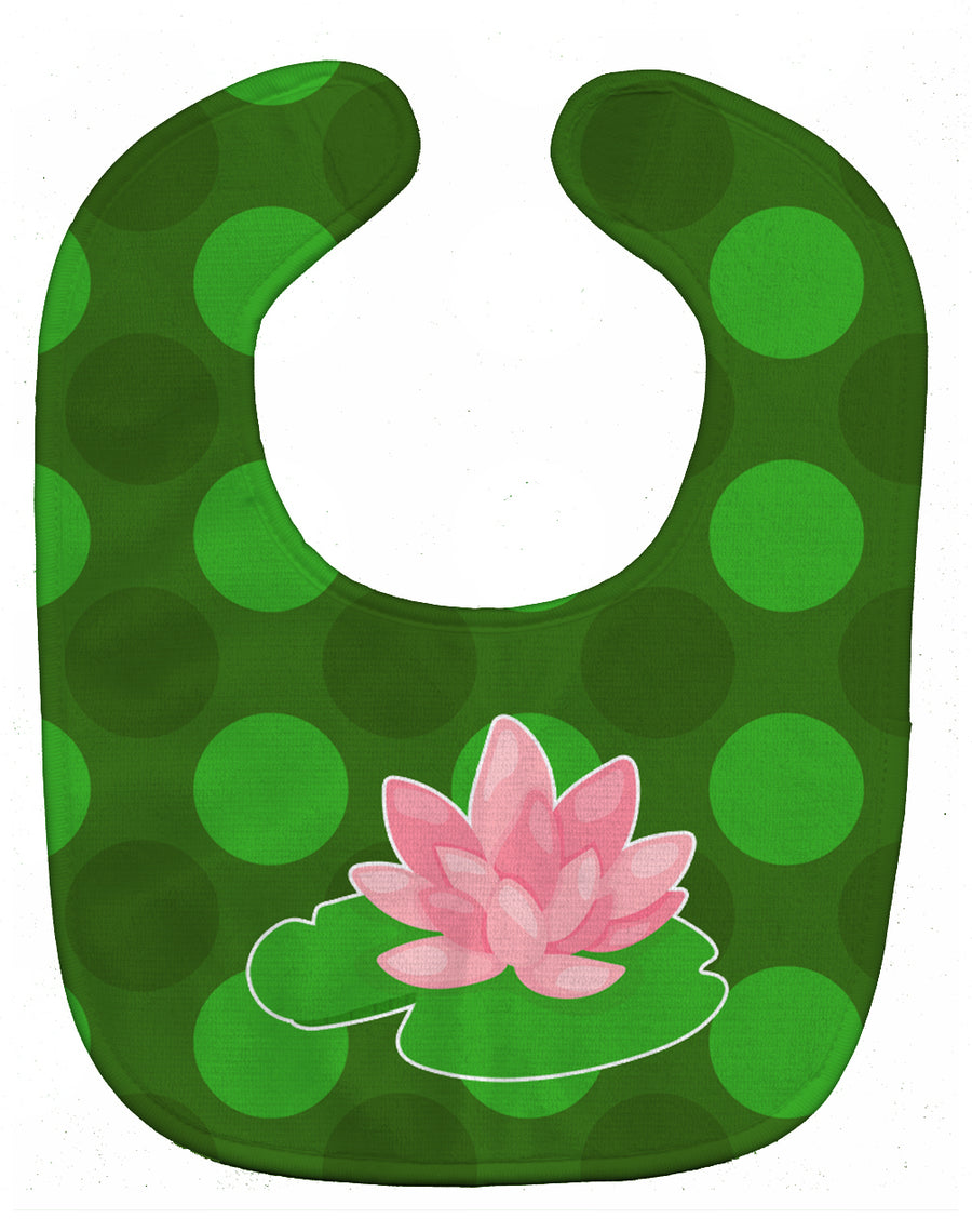Buy this Frog Lily Pad Baby Bib BB8994BIB