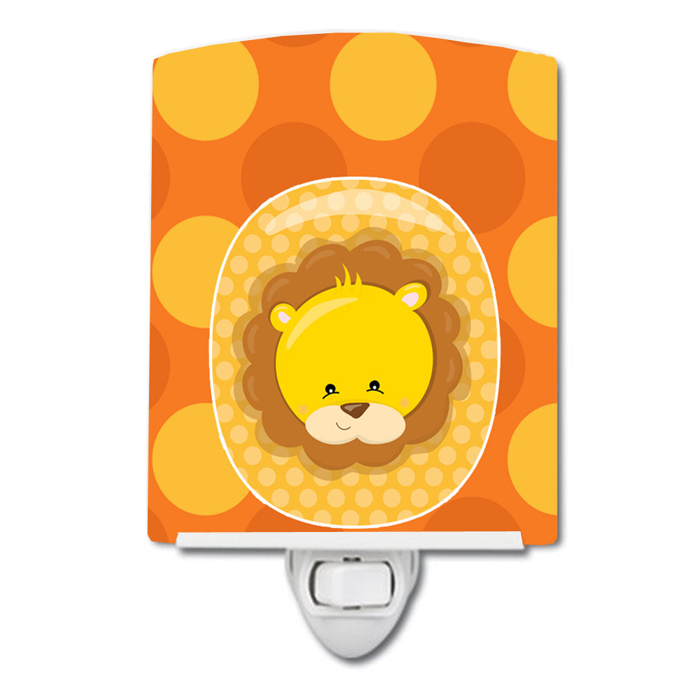 Zoo Month 0 Lion Ceramic Night Light BB9007CNL by Caroline's Treasures