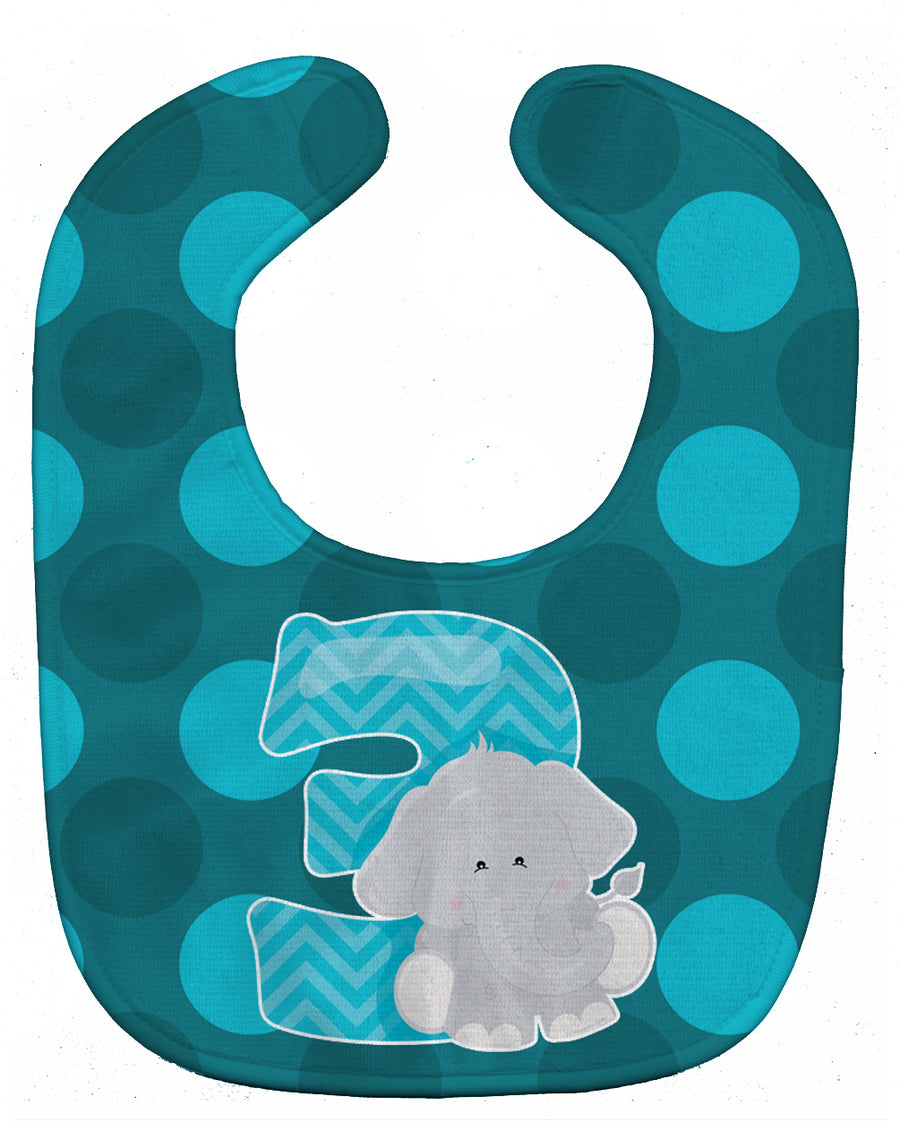 Buy this Zoo Month 3 Elephant Baby Bib BB9010BIB