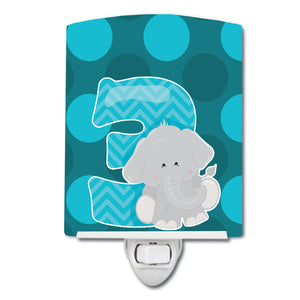 Buy this Zoo Month 3 Elephant Ceramic Night Light BB9010CNL