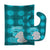 Buy this Zoo Month 3 Elephant Baby Bib & Burp Cloth BB9010STBU
