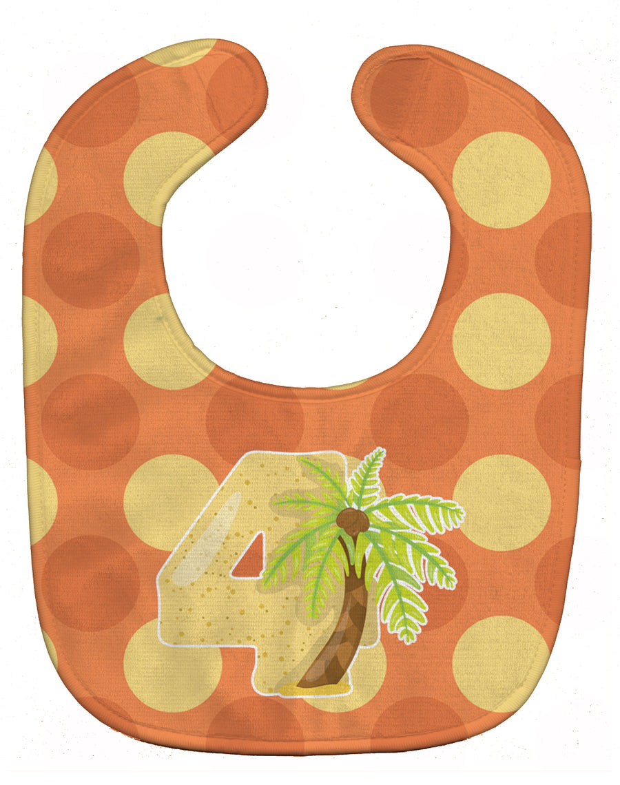 Buy this Zoo Month 4 Palm Tree Baby Bib BB9011BIB