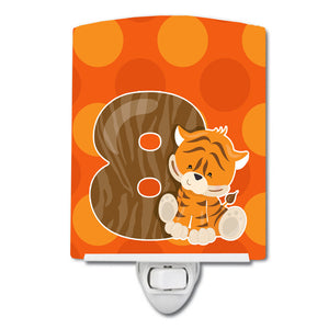 Buy this Zoo Month 8 Tiger Ceramic Night Light BB9015CNL