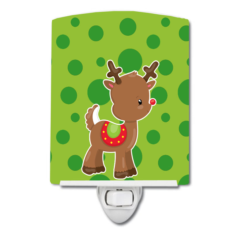 Buy this Christmas Reindeer #3 Ceramic Night Light BB9025CNL