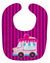 Buy this Ice Cream Truck Pink Baby Bib BB9059BIB
