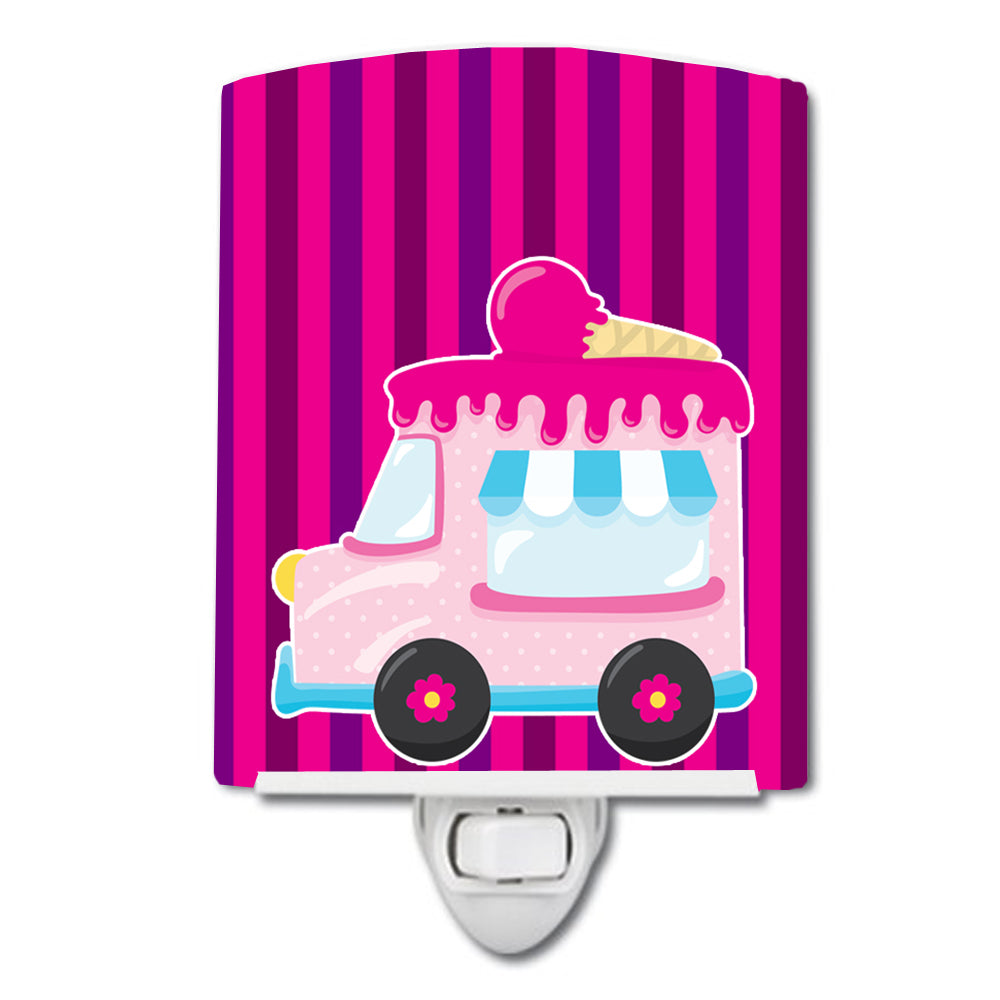 Ice Cream Truck Pink Ceramic Night Light BB9059CNL by Caroline's Treasures