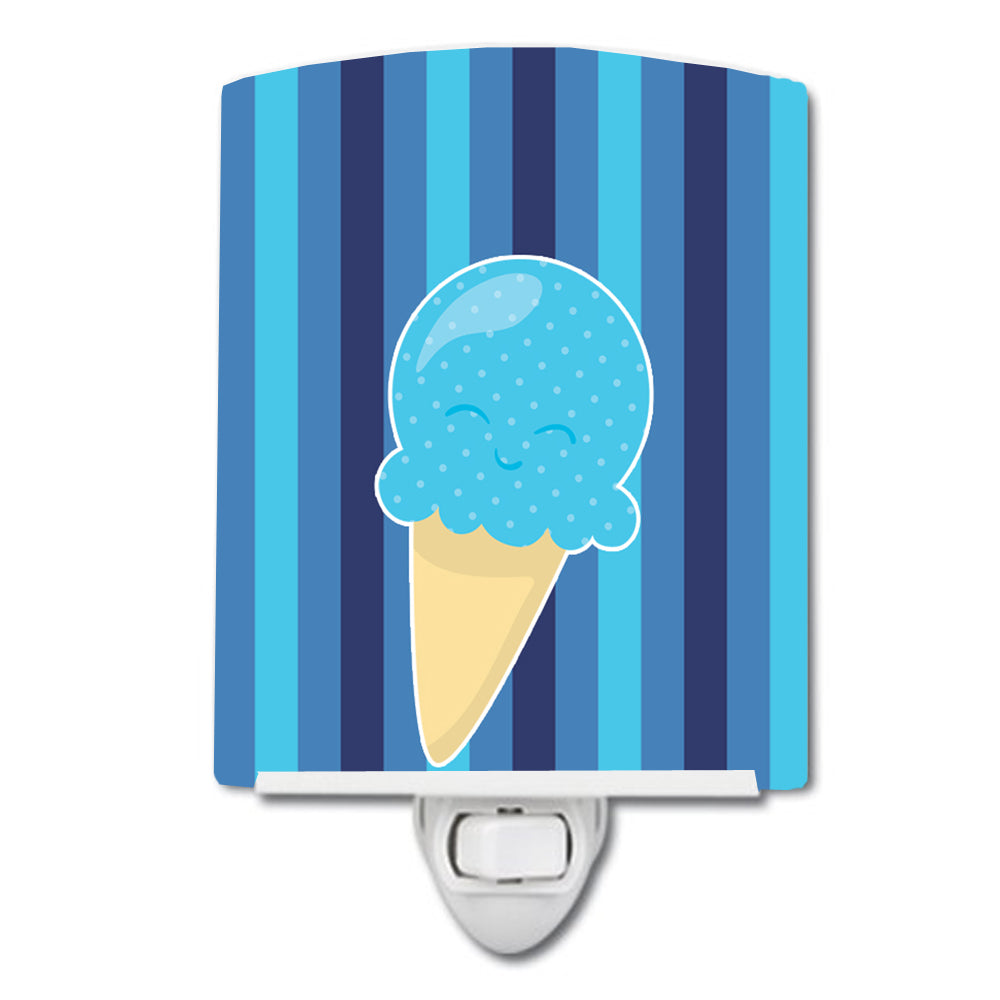 Buy this Ice Cream Cone Blue Ceramic Night Light BB9062CNL