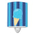Ice Cream Cone Blue Ceramic Night Light BB9062CNL by Caroline's Treasures