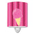 Ice Cream Cone Pink Ceramic Night Light BB9064CNL by Caroline's Treasures