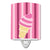 Buy this Ice Cream Cone Pink Swirl Ceramic Night Light BB9065CNL